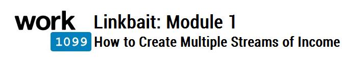Linkbait Module 1
